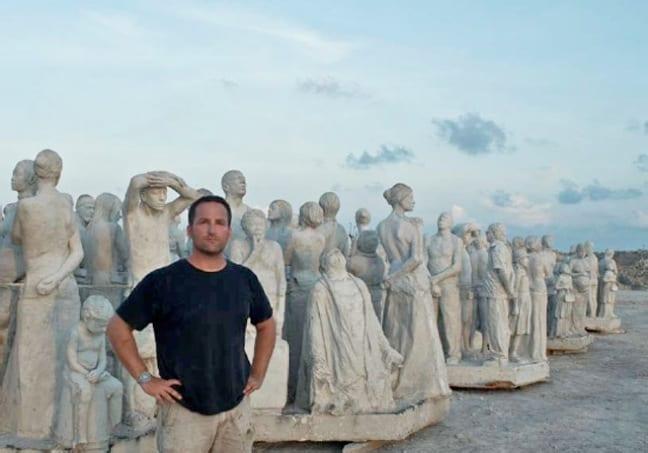 Jason deCaires Taylor's Cancun Underwater Museum Sculptures