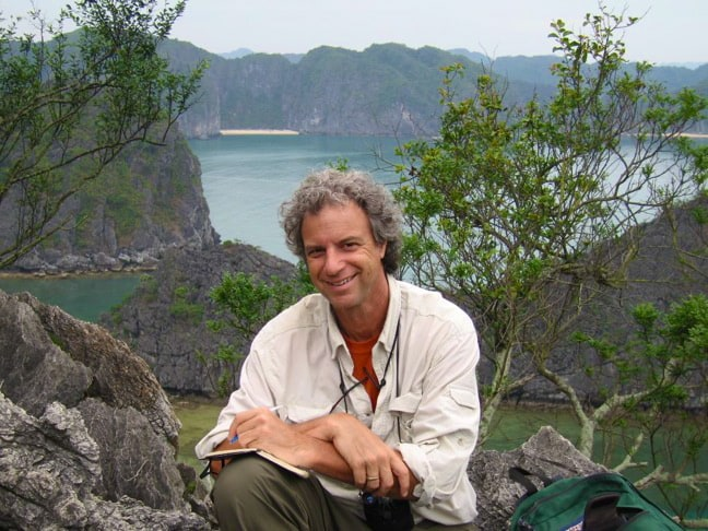Travel Writer Jeff Greenwald in Vietnam