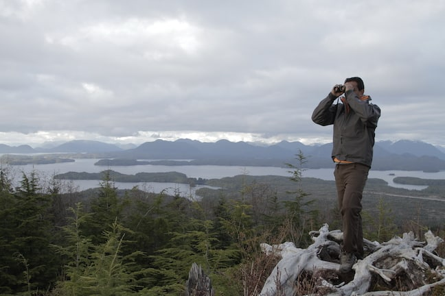 M Sanjayan In the Great Bear Rainforest of British Columbia