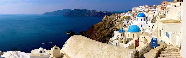 Santorini Panorama, Greece