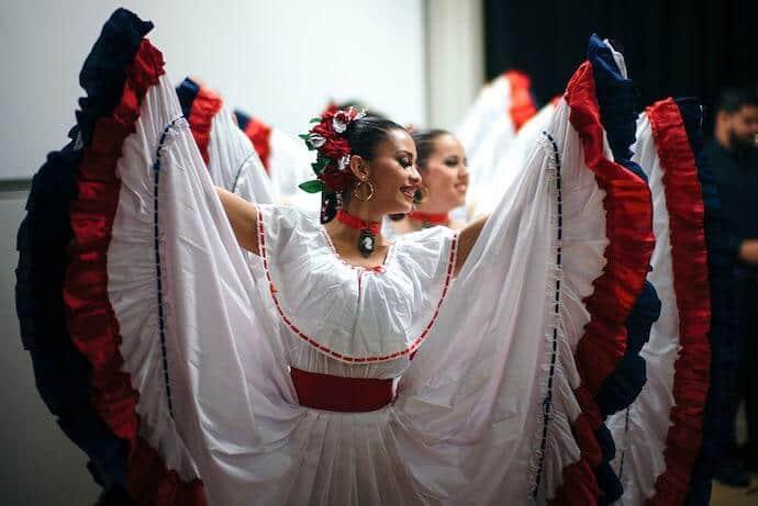 Costa Rican Dance Performance