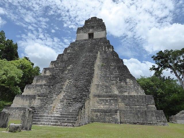 Tikal Pyramid via pixabay