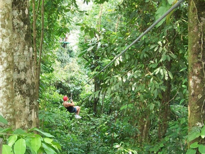 Fun Activities in Costa Rica - go on a Zip Line tour