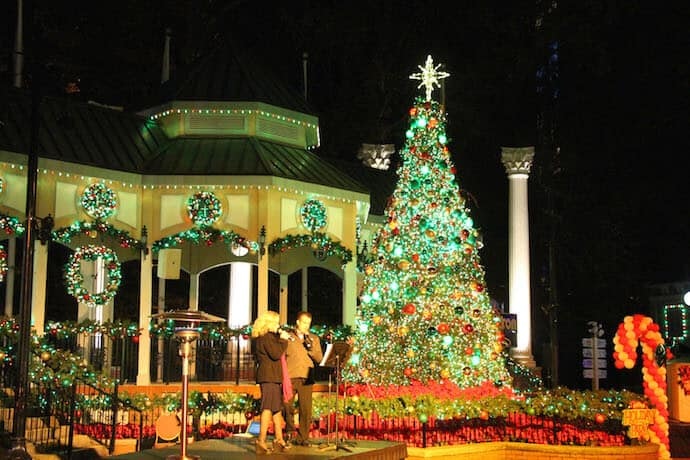 Christmas Lights around Atlanta- Six Flags