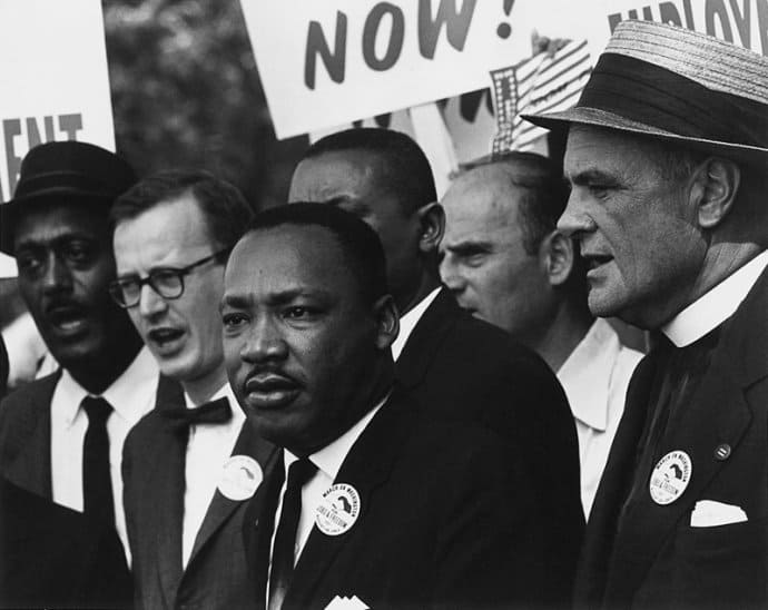 Martin Luther King Jr day quotes -Dr Martin Luther King Jr. at March on Washington