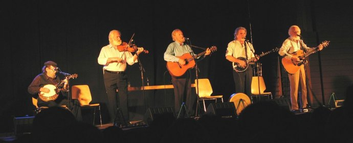 The Dubliners live in Luxembourg in 2008