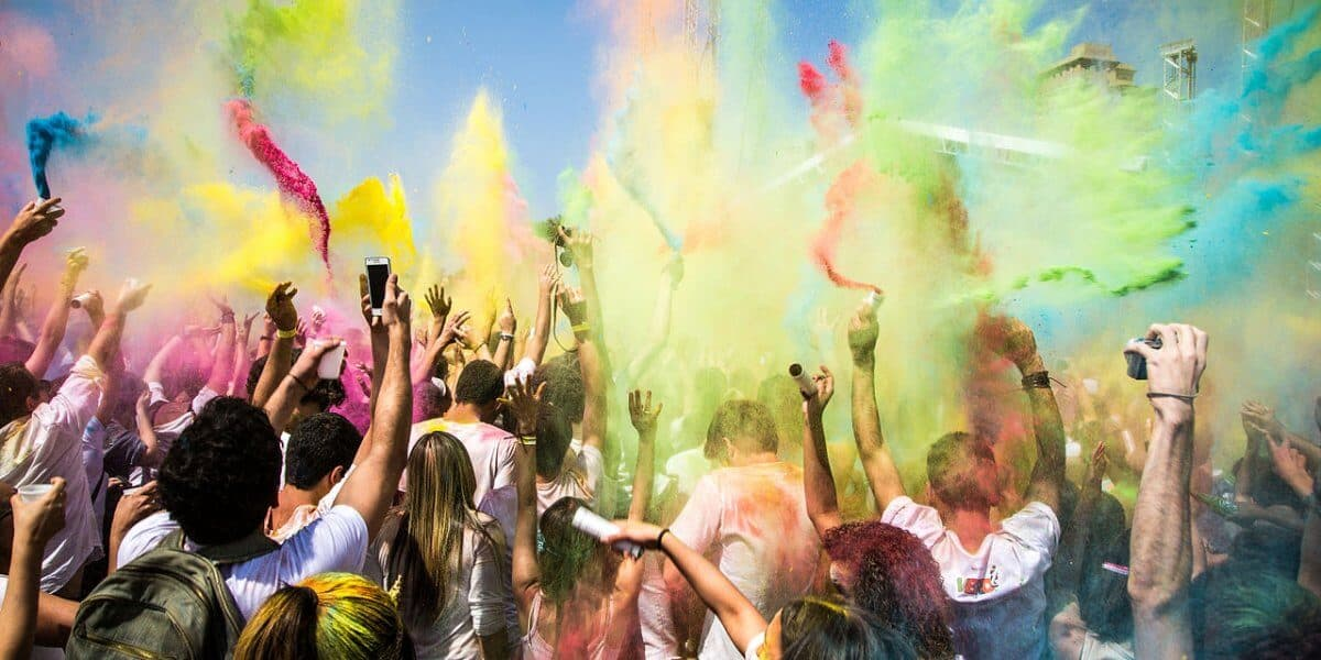 Top 10 Festivals In The World -Holi