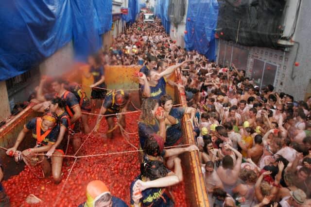 Top 10 Festivals In The World -La Tomatina