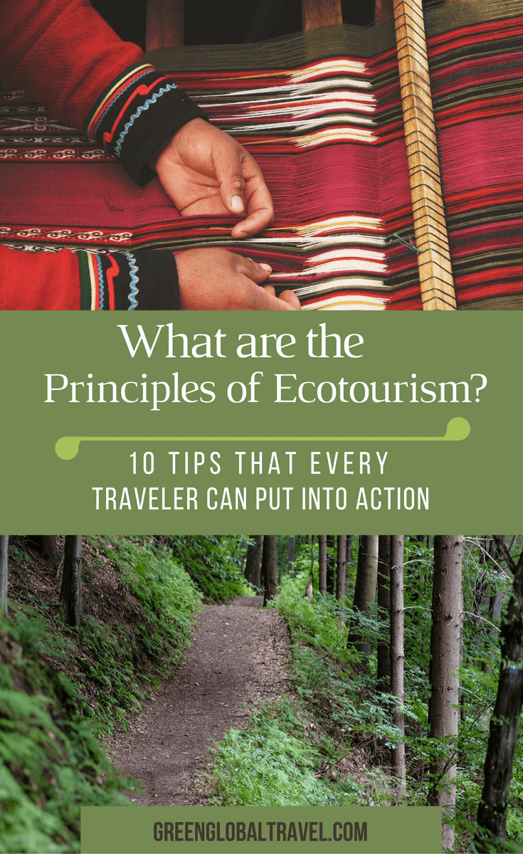 "What Is Ecotourism? (The History & Principles of Responsible Travel). Ecotourism was defined by Megan Epler Wood in 1990 as ""Responsible travel to natural areas that conserves the environment and improves the well-being of local people."" But what does that look like in action for travelers, and why does it matter? We examine the history and evolution of ecotourism through interviews with Wood (founder of The International Ecotourism Society) and Dr. Martha Honey (founder of the Center for Responsible Travel). We also explore some of the world's hottest ecotourism destinations, and look at how individuals can make their travel adventures more sustainable for the local people and the planet. via @greenglobaltrvl"