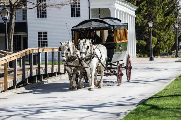 America's Best living history museums: Carriage Ride in Greenfield Village