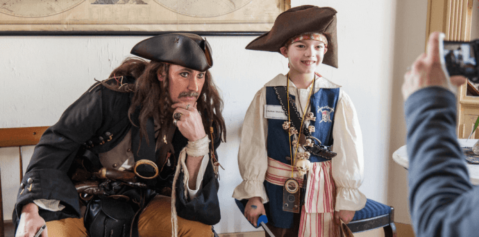 America's Best Living History Museums: Mystic Seaport Pirate