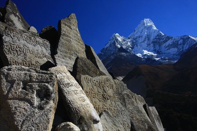 Ama Dablam in Nepal