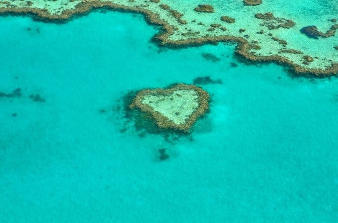The Great Barrier Reef, one of our Top 5 Australia Ecotourism Attractions