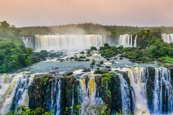 Worlds Biggest Waterfalls (By Continent)