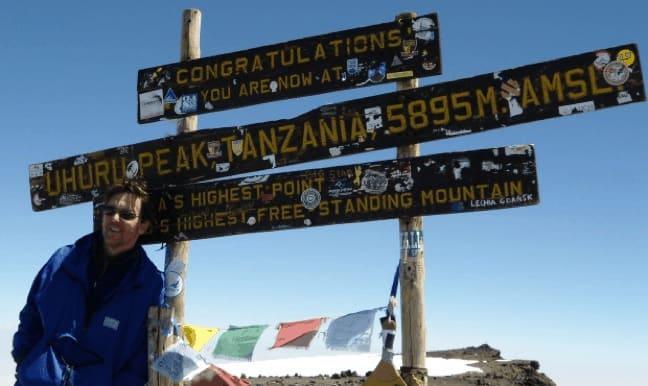 Andrew_McCarthy_on_Kilimanjaro