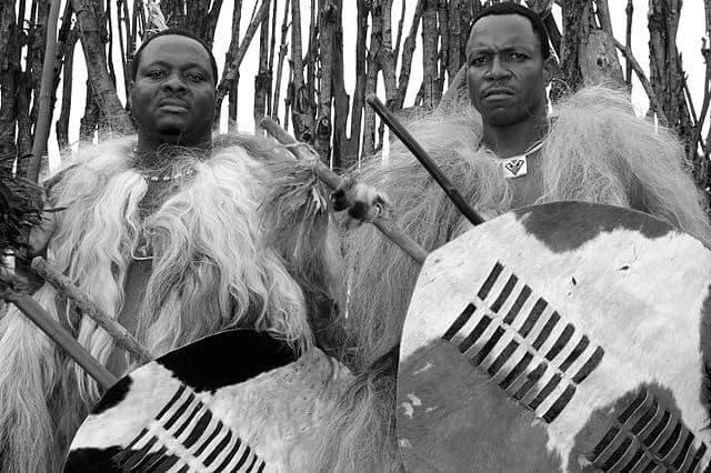 Swaziland Incwala Warrior