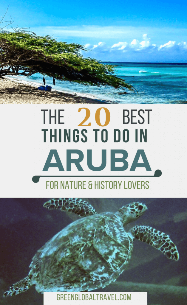 The 20 Best Things to Do in Aruba for Nature & History Lovers, including the Donkey Sanctuary, Antilla Shipwreck, Arikok National Park, Hooiberg & much more! #ArubaTravel #ArubaVacation #ArubaTravelTips #ArubaTravelGuide #ArubaTours #ThingsToDoInAruba #ArubaTravelThingstoDo via @greenglobaltrvl
