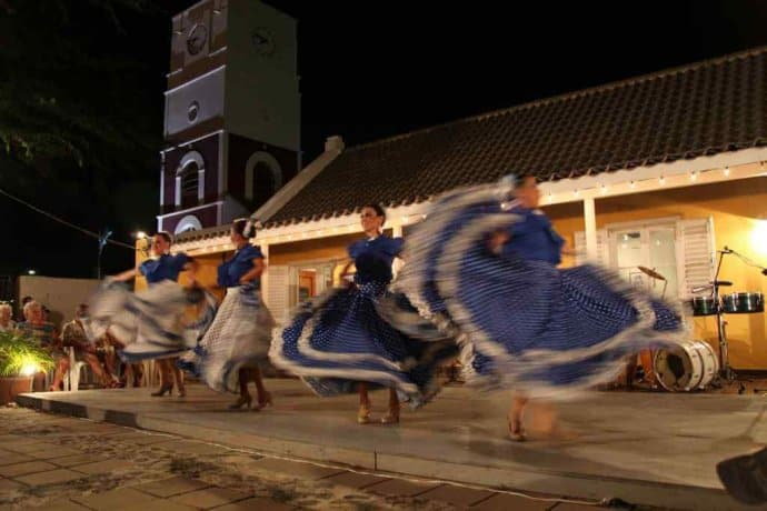 Dancers at Aruba's Bon Bini Festival
