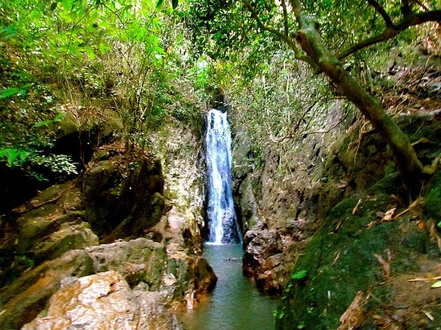 Bang Pae Waterfall in Khao Phra National Park Thailand