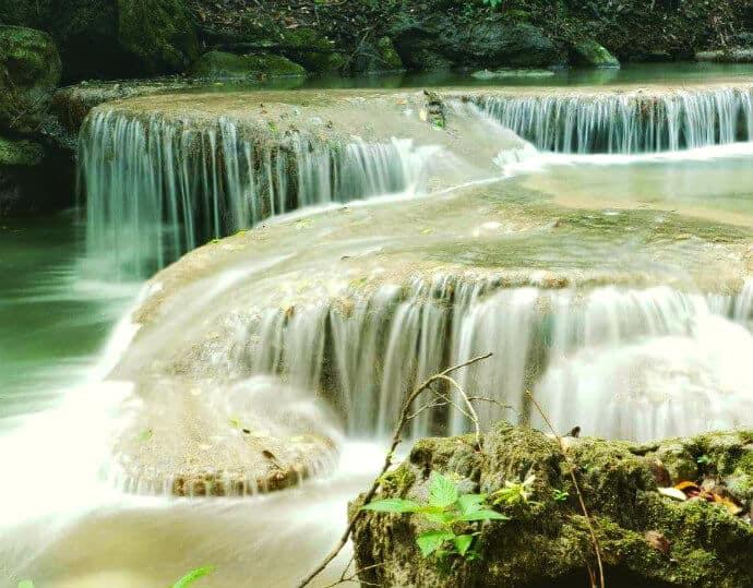Erawan National Park Thailand Waterfalls