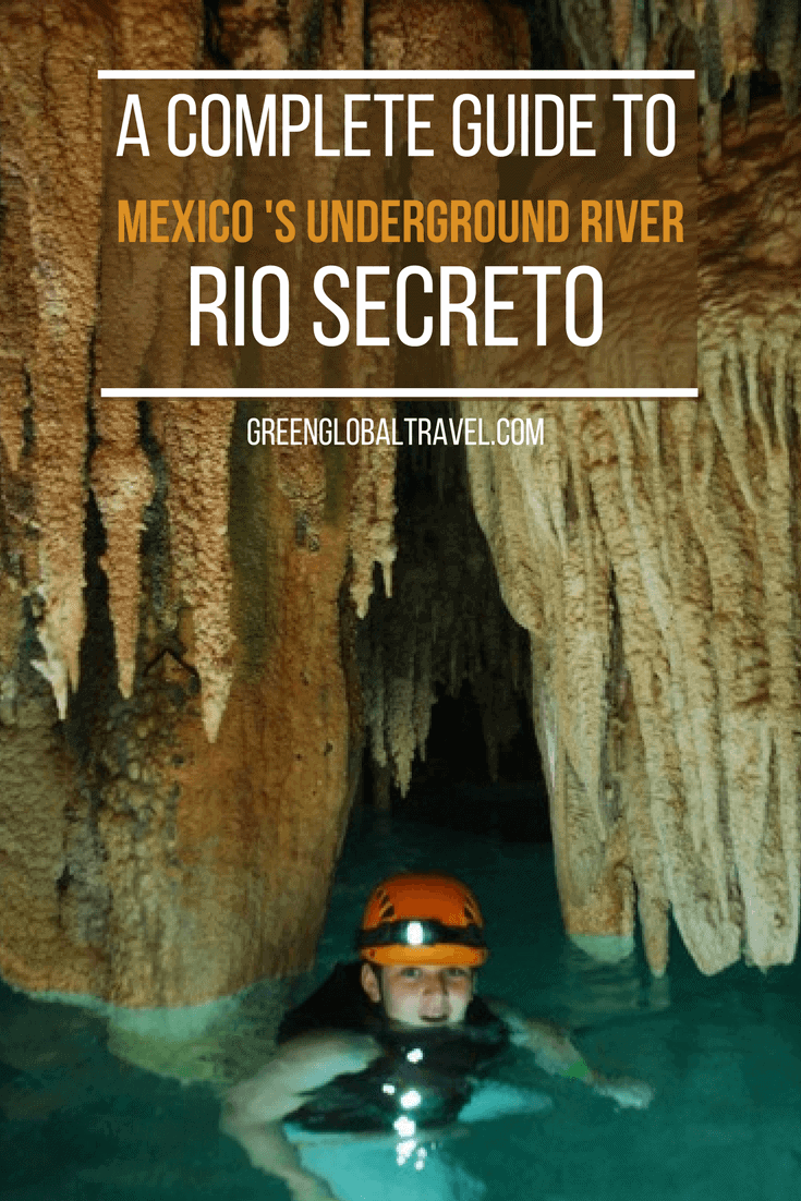 Exploring Rio Secreto, the Riviera Maya's Amazing Underground River. Discovered in 2004 by a local land owner, Rio Secreto is an extensive system of caves and cenotes carved out over the course of several centuries by an underground river. Stretching approximately eight miles, with 15 natural outlets, it's one of Quintana Roo's most remarkable ecotourism attractions. We look at the history of Rio Secreto exploration, its significance to the ancient Maya, share our exceptional tour experience, and offer tips on where to stay in the area. via @greenglobaltrvl