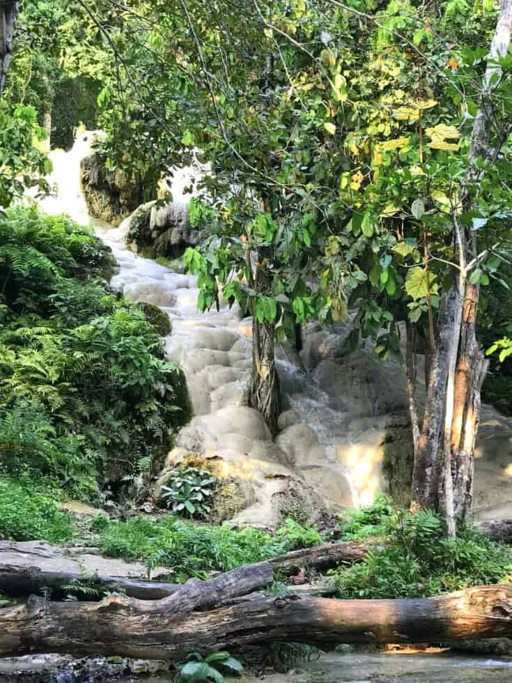 Si Lanna National Park, Sticky Waterfall by Liz Deacle