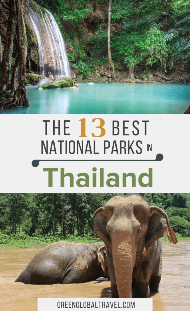 The Best 13 National Parks in Thailand including travel tips for getting the most out of your nature vacation. via @greenglobaltrvl | things to do | adventure|