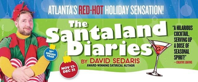 Atlanta Christmas Theatre -Santaland Diaries