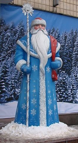 Christmas World Traditions -Ded Moroz in Russia