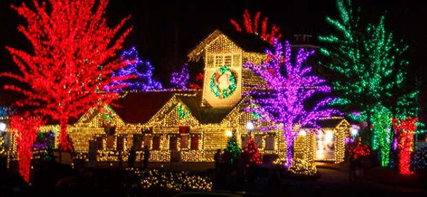 Christmas Lights Near Atlanta -Stone Mountain Christmas