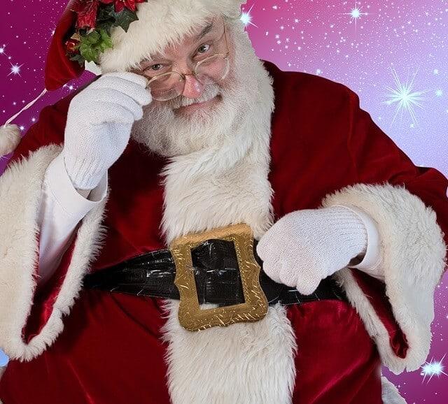 Fun Christmas Traditions - Santa