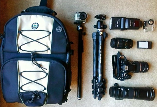 Green Global Travel Packing Checklist: Photo & Video Gear