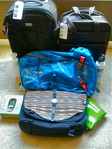 Green Global Travel Packing Checklist: Luggage & General Gear