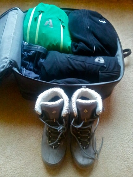 Green Global Travel Packing Checklist: Cold Weather Gear