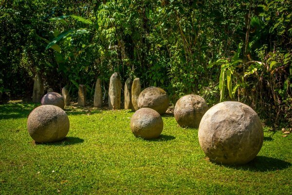 Ecotourism in Costa Rica -Stone Spheres Finca 6 Archaeological Site