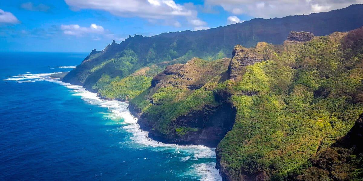 Napali Coast Sightseeing in Kauai, Hawaii