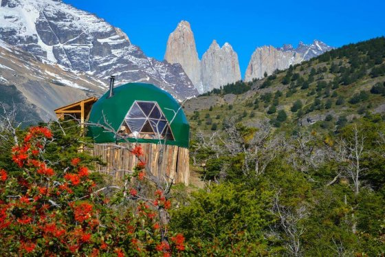 Awesome hotel in Chilean Patagonia -EcoCamp Patagonia