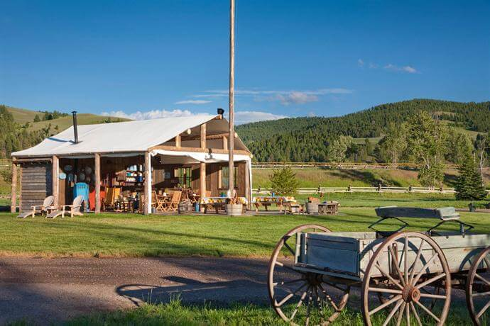 US Glamping Resorts - The Ranch at Rock Creek