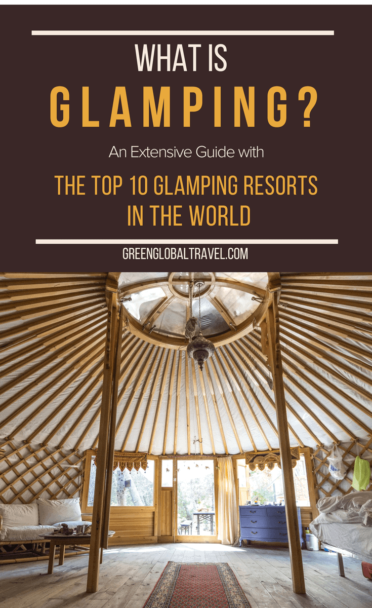 What is Glamping? Our extensive guide includes the history & definition of glamping and an overview of glamping tents and other lodging styles. Also, our picks for the world's top glamping resorts, including Clayoquot Wilderness Resort, EcoCamp Patagonia, Ngala Tented Camp, Three Camel Lodge, Sweden's Treehotel & more. via @greenglobaltrvl