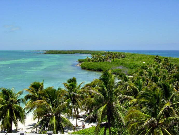 Ecotourism Attractions in Cancun -Isla Contoy, Mexico.
