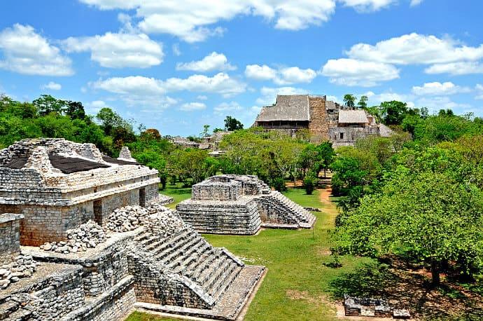 Mayan Ruins in Yucatan -Ek Balam