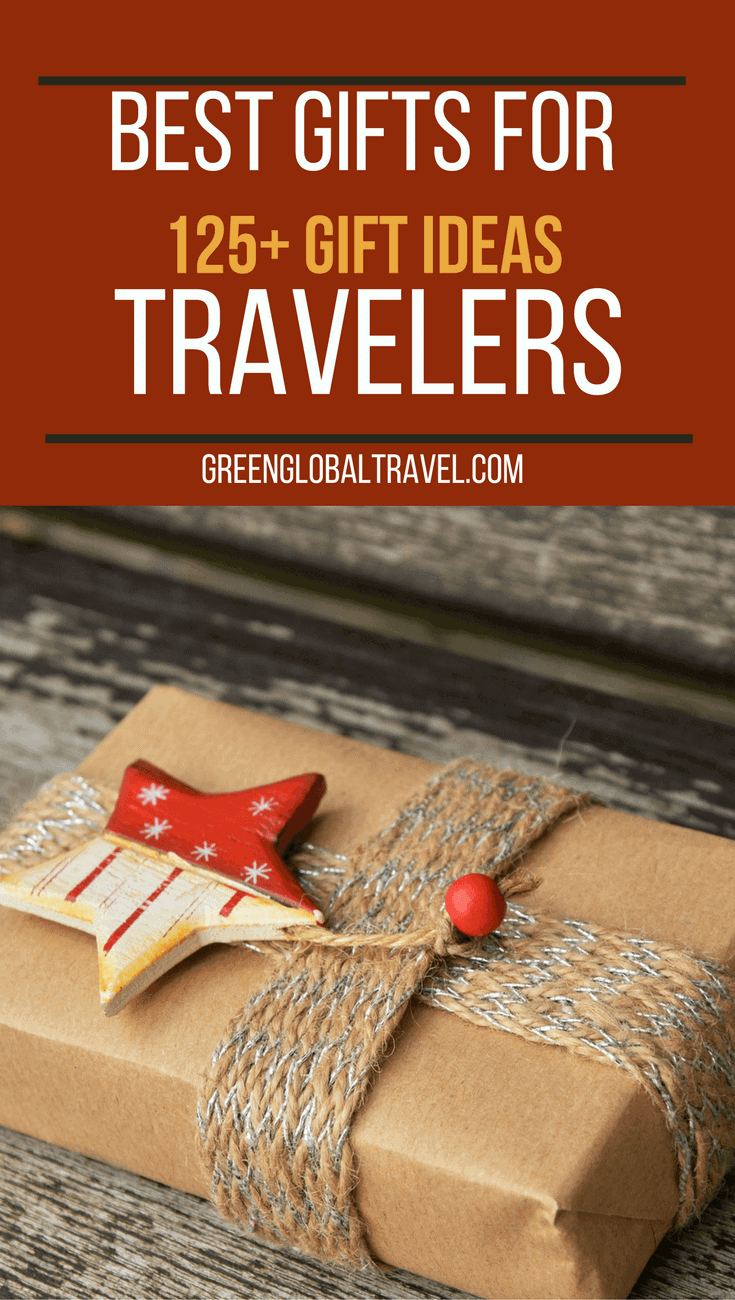 Best Gifts For Travelers: 125+ Gift Ideas via @greenglobaltrvl