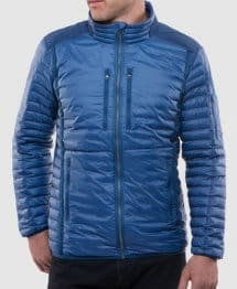 Best Gifts for Cold Weather Male Travelers -Kuhl Spyfire Down Jacket
