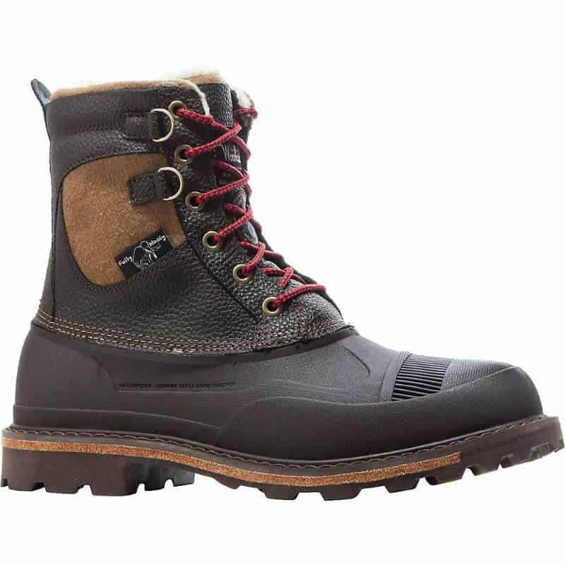 Best Gifts for Cold Weather Travelers -Woolrich Fully Wolly Hiking Boots