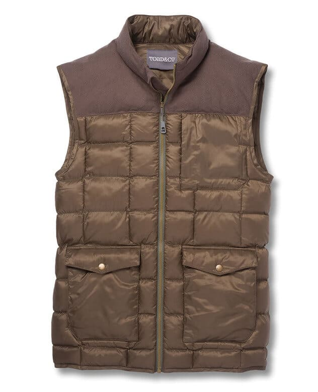 Best Gifts for Male Travelers -Toad&Co Airvoyant Puff Vest
