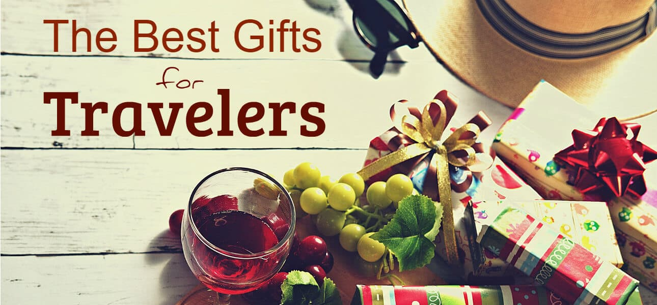 Best Gifts for Travelers - a gift guide featuring 125+ ideas