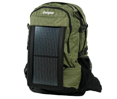 Best Tech Gifts for Backpackers -Energizer Solar Wanderer