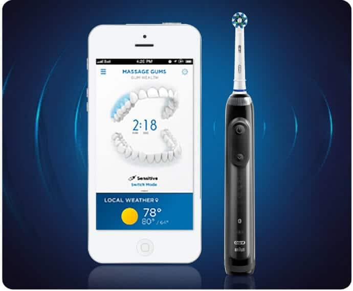 Best Tech Presents for Travelers -OralB Genius