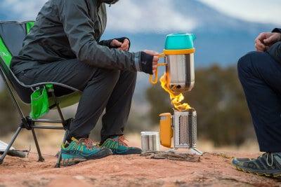 Best Travel Gifts for Campers -Biolite CampStove 2 Bundle