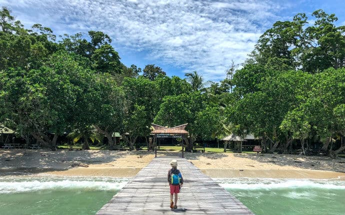 Islands around Malaysia -Pulau Tiga aka Survivor Island
